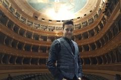 Teatro Sociale di Trento backstage