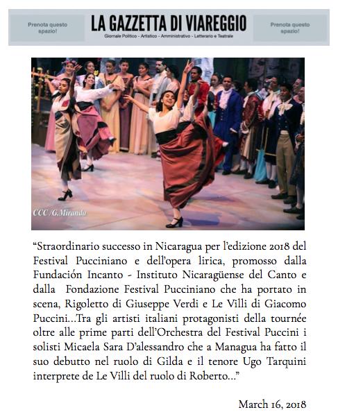 La Gazzetta di Viareggio-16:03:2018